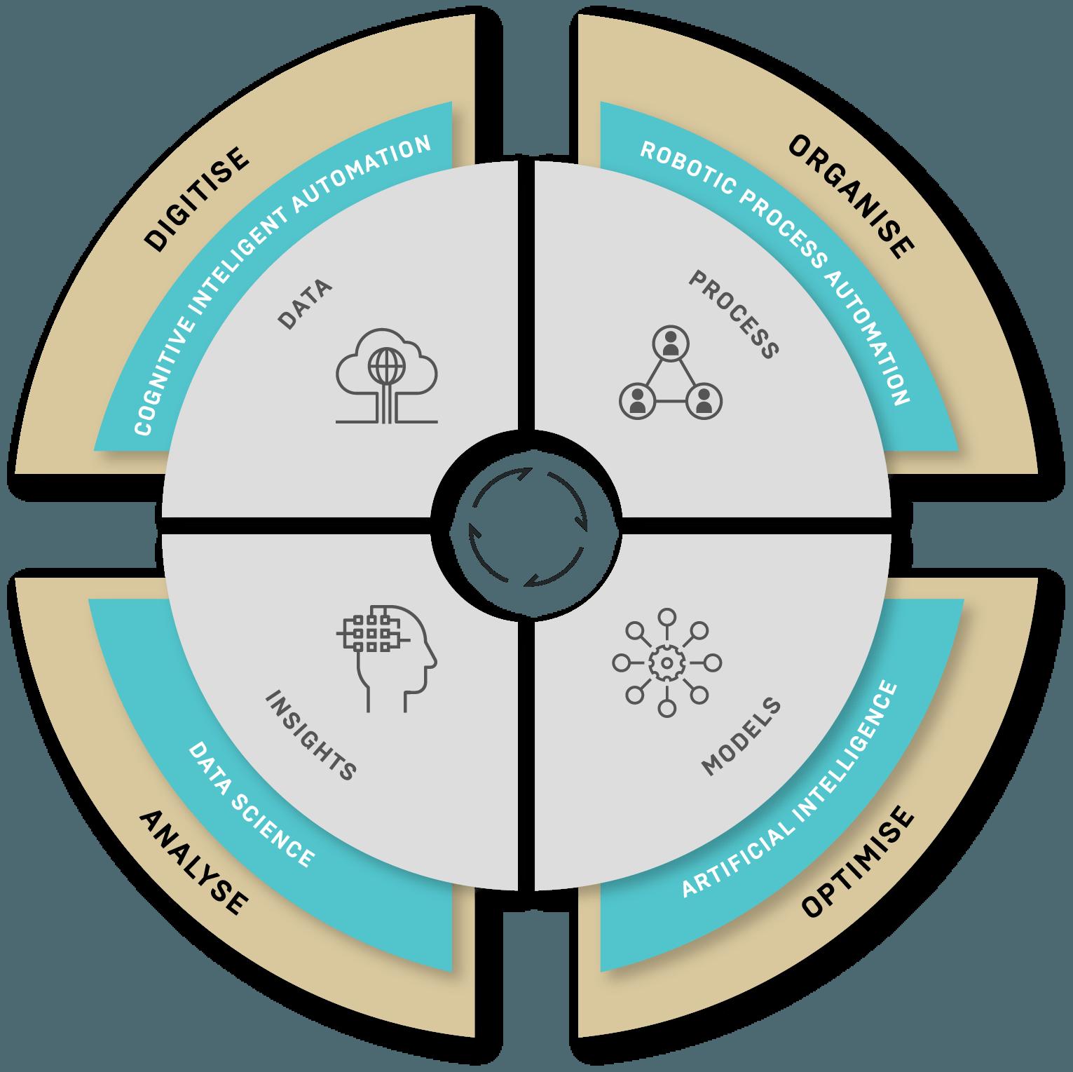 Digitise Organise Optimise Analyse